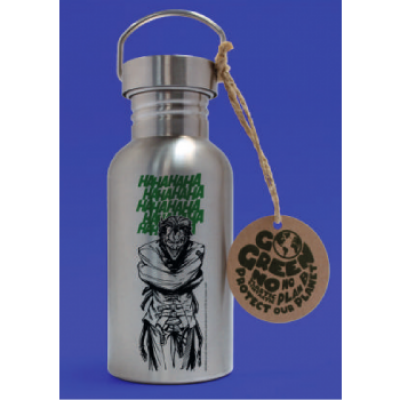 GBeye Aluminium Drink Bottle - DC Comics - Joker Laugh