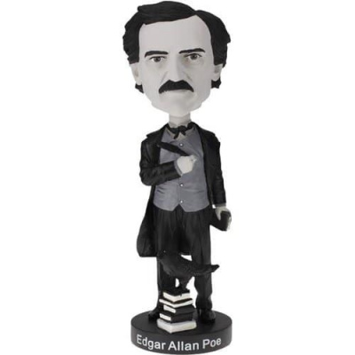 Edgar Allan Poe Black and White Exclusive Bobblehead