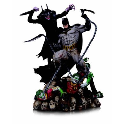 DC Comics: The Batman Who Laughs vs Batman Battle Statue