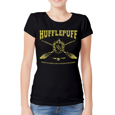 HARRY POTTER - COLLEGIATE HUFFLEPUFF BLACK