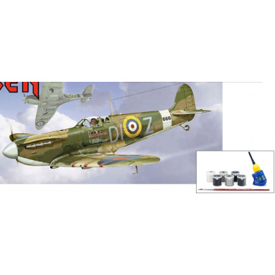 Iron Maiden: Spitfire Mk.II Aces High - 1:32 Scale Model Kit