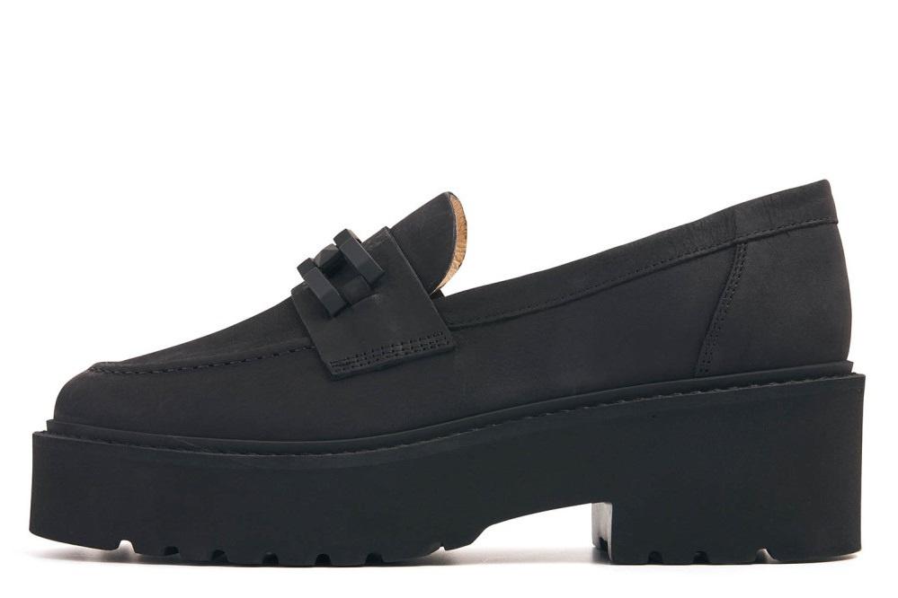 Loafer met platformzool