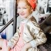 Afbeelding van Little miss Juliette Stripe dress STR