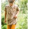 Afbeelding van Ammhoela shirt tie dye Coffee