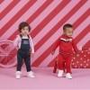 Afbeelding van Z8 boys jogpants Barth red