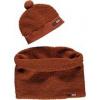 Afbeelding van Moodstreet set sjaal plus muts fluffy