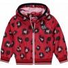 Afbeelding van quapi baby girl Rosie Jacket rouge red leopard