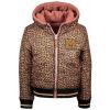 Afbeelding van Moodstreet reverseble winterjas teddy/leopard