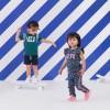 Afbeelding van Z8 girls Roos jogpants Bottle green/pink print all over leopard