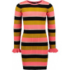 Afbeelding van Moodstreet girls dress stripe allover