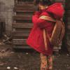 Afbeelding van Ammehoela winterjas parka warm red