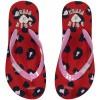 Afbeelding van Quapi meisjes Flipflops Slippers Saavi Rouge Red Leopard