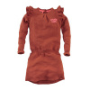 Afbeelding van Z8 girls dress Odile burnt-brick