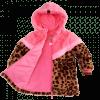 Afbeelding van Z8 girls Sandy Borgvest Leopard/popping Pink