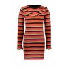 Afbeelding van Moodstreet girls dress stripe
