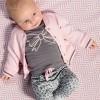 Afbeelding van Quapi newborn broekje Zarina light grey leopard
