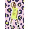 Afbeelding van Funky xs dress oh la la yellow