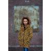 Afbeelding van Moodstreet meiden winterjas okergeel leopard