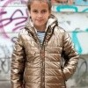 Afbeelding van Moodstreet girls winterjas rose gold