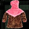 Afbeelding van Z8 baby girl Borgvest Sandy Leopard/Popping pink