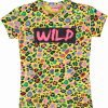 Afbeelding van O'chill shirt Cristine leopard all over print yellow