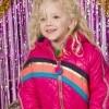 Afbeelding van Kidz-art jacket long Neon Fuchsia