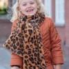 Afbeelding van Flo sjaal leopard fluffy cognac