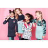 Afbeelding van Little miss Juliette Sweat Dress 2 NVY