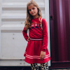 Afbeelding van Quapi girls dress Danoul red chill
