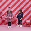 Afbeelding van Z8 girl winterjas Margretha Royal blue/Popping pink/AOP