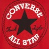 Afbeelding van converse boys badge tee red
