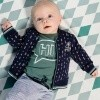 Afbeelding van Quapi newborn Zander dark blue arrow