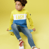 Afbeelding van Jumping The Couch Sweater Yellow