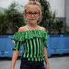 Afbeelding van Quapi top Faylena dark stripe