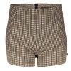 Afbeelding van Frankie & Liberty Now Short Check Black /Cynnamon/Off White