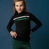 Afbeelding van Little miss juliette glitter sweater navy