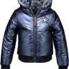 Afbeelding van moodstreet reverseble winterjacket blue