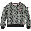 Afbeelding van Quapi Girls Tavia sweater Dark Grey Snake