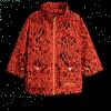Afbeelding van Mini rodini leopard piping jacket