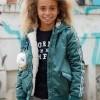 Afbeelding van Moodstreet winterjas girls uil