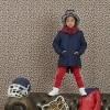 Afbeelding van Z8 boys winterparka Barney blue