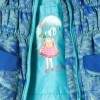 Afbeelding van Mimpi winterjas pauwenprint