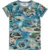 Afbeelding van Molo boys shirt Rad treasure map