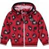 Afbeelding van Quapi Girls Jacket Sarella Rouge Red Leopard