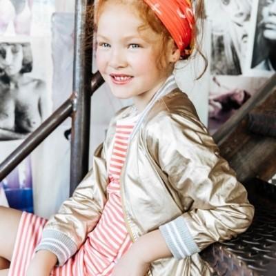 Little miss Juliette Stripe dress STR