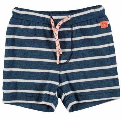 Foto van BAMPIDANO baby jongens korte broek blue stripe