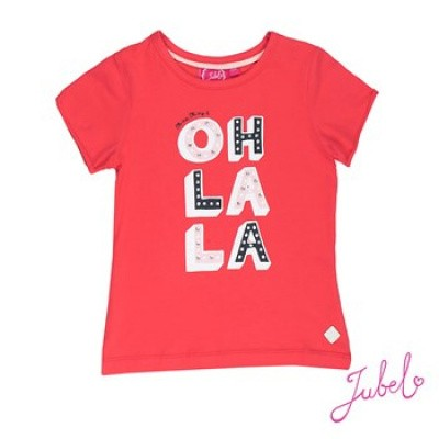 Jubel T-shirt Oh la la Sea View Rood k/m