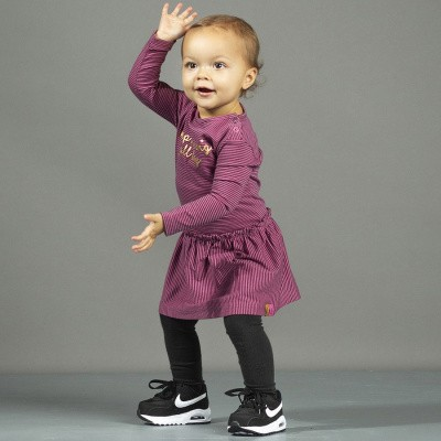 Foto van Quapi baby girls Valerie Dress Pink mini stripe