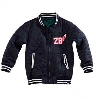 Foto van Z8 boys Tom Zomerjas Midnight Navy/Bottle Green