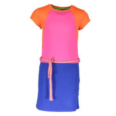 Foto van Kidz-art dress color block